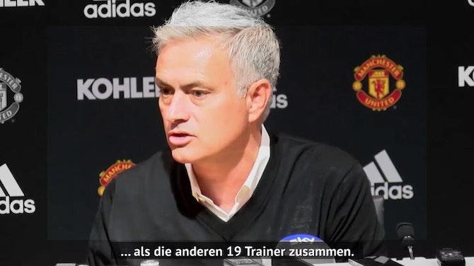 Mourinho zur Roma: Seine besten PK-Momente