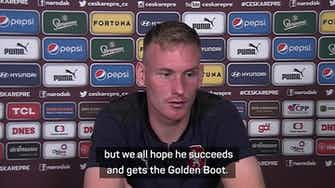 Preview image for Czechs doing all they can for Schick's Euro 2020 Golden Boot