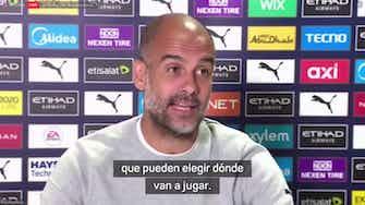 """Imagen de vista previa para Guardiola: """"Cristiano decidirá dónde va a jugar"""""""