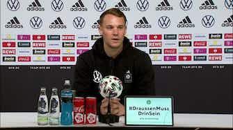 Vorschaubild für DFB-Zukunft? Neuer: Denke nicht an Rücktritt