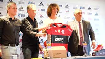 Preview image for Behind the scenes: David Luiz's first day at Flamengo