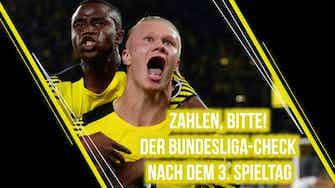 Vorschaubild für Zahlen, bitte! Der Bundesliga-Check zum 3. Spieltag