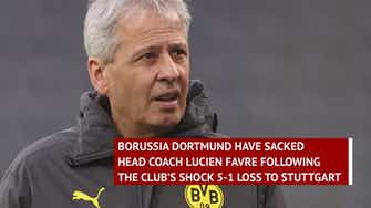 Preview image for Breaking News - Favre sacked by Dortmund after Stuttgart 'catastrophe'