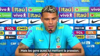 Image d'aperçu pour Brésil - Thiago Silva soutient Neymar