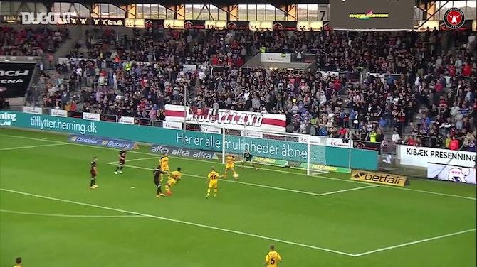 Le premier but de Rafael van der Vaart avec Midtjylland