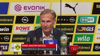 """Vorschaubild für Watzke zu Sancho: """"Freuen uns nicht über das Geld"""""""