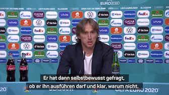 Vorschaubild für Modric: Deshalb hat Lovren den Freistoß gemacht