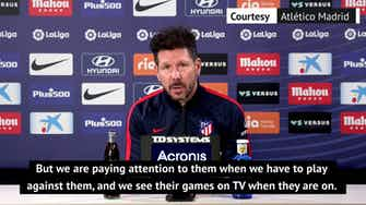 Preview image for 'Atlético ready for intense and aggressive Getafe' - Simeone