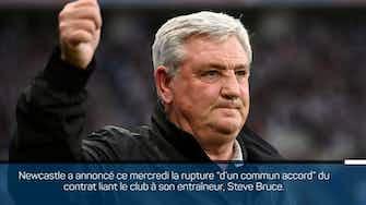 Image d'aperçu pour Newcastle - Steve Bruce quitte le club !