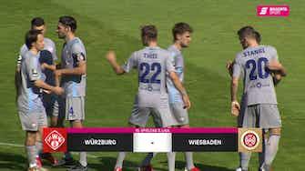 Vorschaubild für FC Würzburger Kickers - SV Wehen Wiesbaden (Highlights)