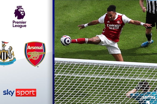 Aubameyang mit Volley-Traumtor! | Highlights: Newcastle - Arsenal 0:2