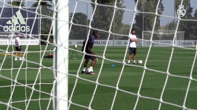 Imagem de visualização para Confira como foi o primeiro treino de Alaba no Real Madrid