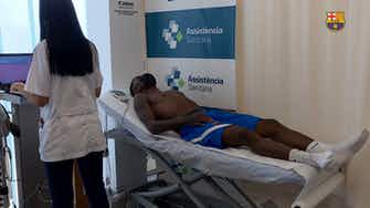 Preview image for Emerson Royal's medical test