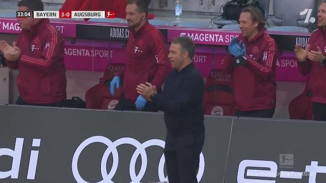 Kimmich amplia para o Bayern em chutaço de fora da área