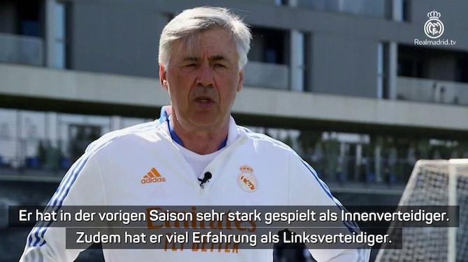 """Vorschaubild für Ancelotti: """"Alaba ist ein kompletter Spieler"""""""