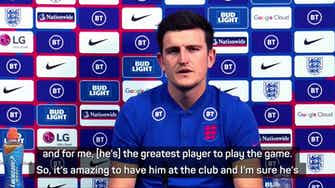 Preview image for Ronaldo signing 'amazing' for Manchester United - Maguire