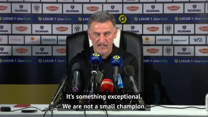 Preview image for Galtier hails 'exceptional' Lille after securing Ligue 1 title