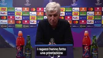 """Anteprima immagine per Gasperini: """"Ci è mancato il gol del 3-1 ma..."""""""