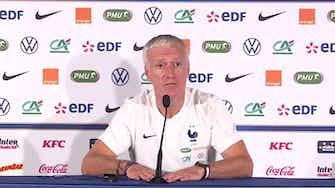 """Image d'aperçu pour Bleus - Deschamps : """"Mbappé est concentré sur l'équipe de France"""""""