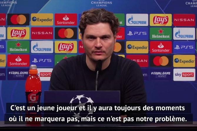 """Quarts - Terzic : """"Haaland est encore un jeune joueur"""""""