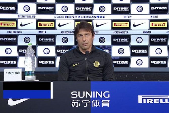 """Inter, Conte: """"Notti insonni e non accetto la mediocrità"""""""