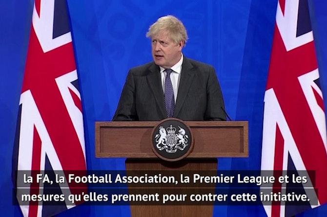 Super Ligue - Boris Johnson s'oppose au projet