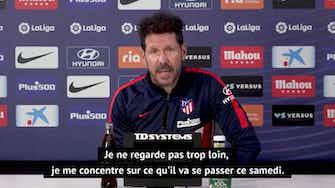 """Image d'aperçu pour 36e j. - Simeone : """"Koeman a bien fait progresser Barcelone depuis la première partie de saison"""""""
