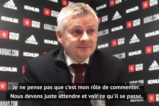 Super Ligue - Solskjær, Conte, Simeone... Les entraîneurs réagissent au projet