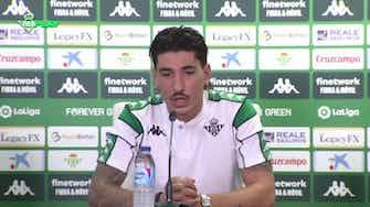 """Imagen de vista previa para Bellerín en su presentación en el Betis: """"A Dani Ceballos le gustaría también mucho estar aquí"""""""