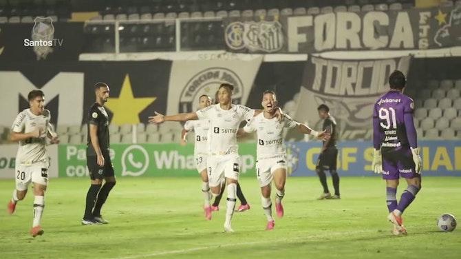Jean Mota, Marinho and Kaio Jorge's goals against Ceará