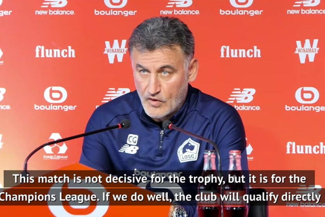 'Four teams can still be champions' - Lille boss Galtier