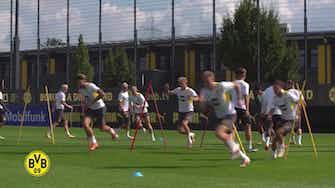 Image d'aperçu pour Le premier entrainement de Pongracic avec Dortmund