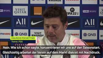 """Vorschaubild für Pochettino: """"Wissen was mit Messi passiert ist"""""""