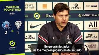 """Imagen de vista previa para  Pochettino, sobre Mbappé: """"Lo que hace en el campo habla por sí solo"""""""