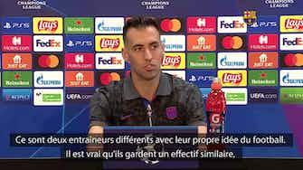 Image d'aperçu pour Barça - Busquets s'attend à souffrir face au Bayern