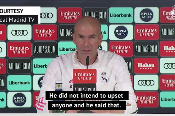 Hazard has apologised and meant no offence - Zidane