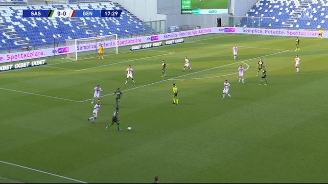 Vorschaubild für Serie A: Sassuolo - CFC Genua | DAZN Highlights