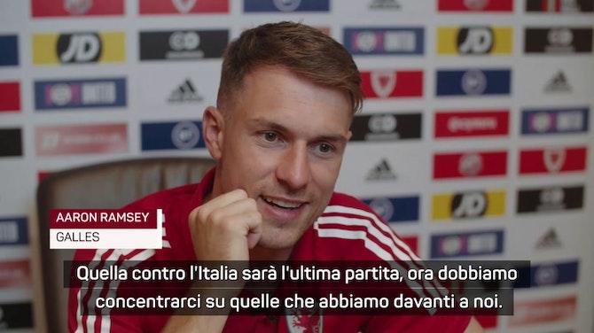 """Ramsey ci crede: """"Da vincenti contro l'Italia"""""""