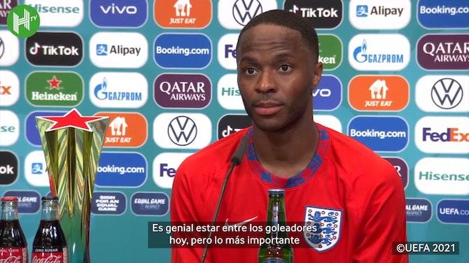 Sterling, sobre el triunfo ante Croacia y su gol a pase de Phillips