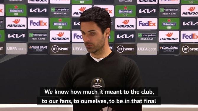 Arsenal 'devastated' after Europa League defeat, says Arteta