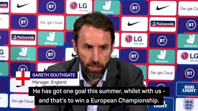 Preview image for I don't expect Kane to be talking transfers during the Euros - Southgate