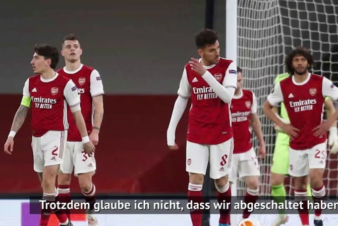 """Arteta nach Remis: """"Haben nicht abgeschaltet"""""""