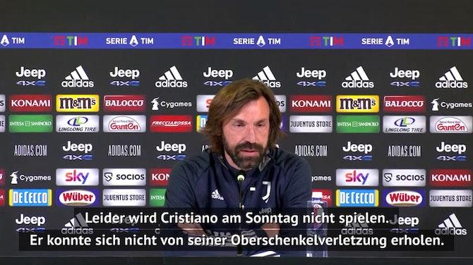 Pirlo erklärt Ronaldo-Ausfall