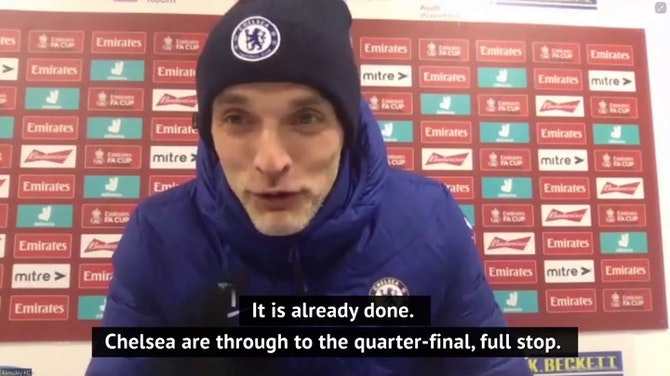 Tuchel relieved after struggling Chelsea beat Barnsley