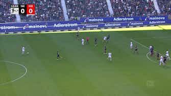 Imagem de visualização para Veja melhores momentos do empate por 1 a 1 entre Eintracht Frankfurt e Colônia