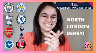 Preview image for REACTING to the FA Cup QF Live Draw⚽️