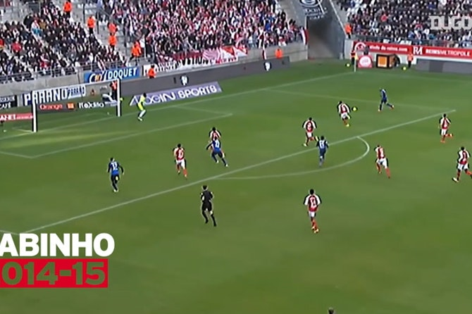 Monaco's top five goals vs Reims