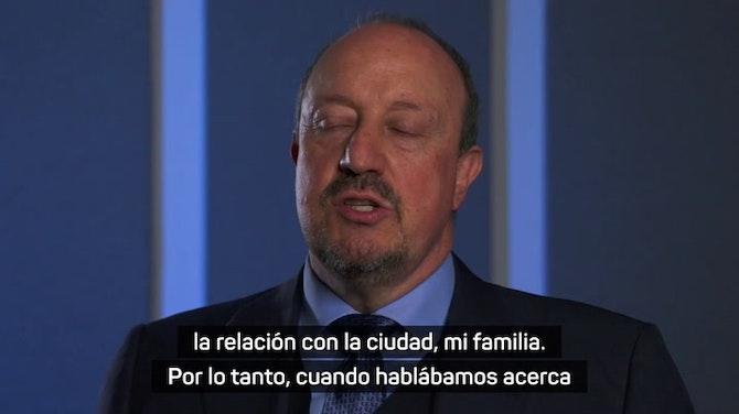 """Imagen de vista previa para Rafa Benitez, en su regreso a la Premier League: """"Viniendo del Real Madrid, estás acostumbrado a ganar"""""""