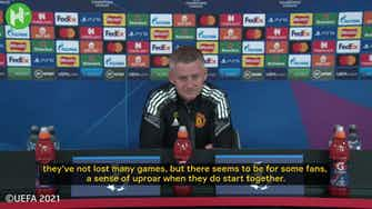 Preview image for Solskjaer on why he persists with McTominay-Fred partnership
