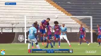 Preview image for Sporting Cristal's 3-0 win at Alianza UDH